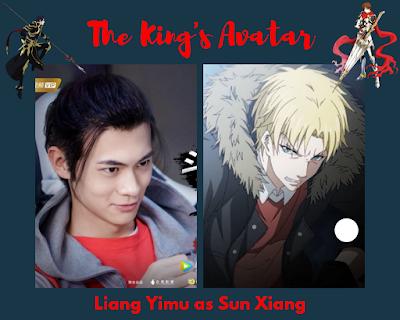 Liang Yimu as Sun Xiang