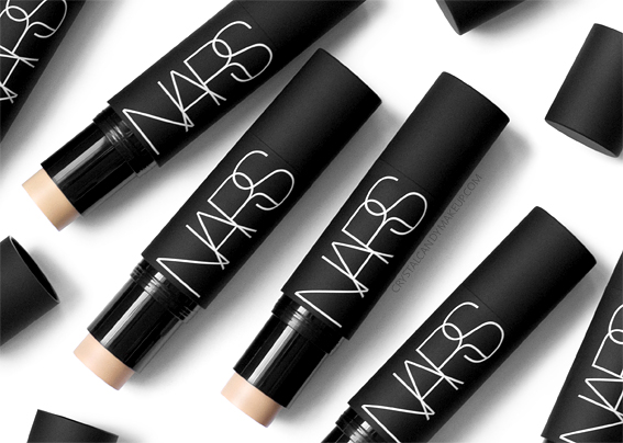NARS Velvet Matte Foundation Stick Review Photos Swatches Before After Oily Skin