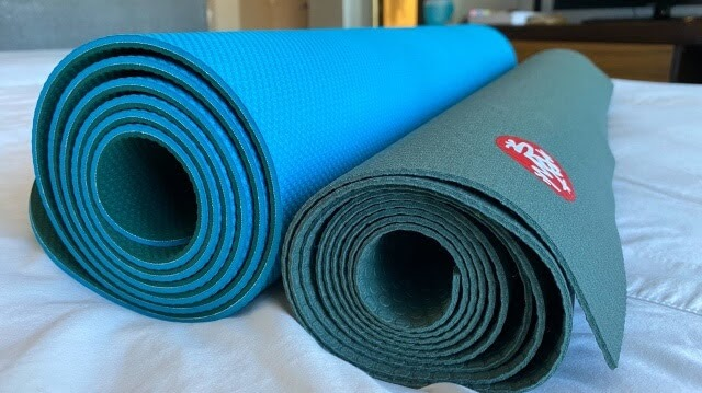 Manduka Begin and PRO Travel Yoga Mat
