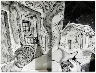 'Negrinho do Pastoreio', Mateus Conter - Mostra Simões Lopes Neto, Santander Cultural