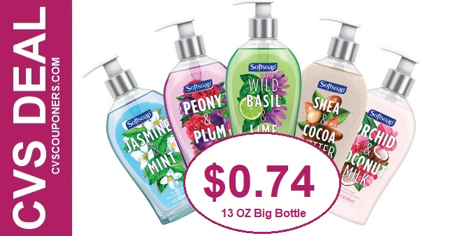 Softsoap Liquid Hand Soap CVS Deal 915-921