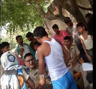 सीतापुर पुलिस खुद ही नही कर रही मुख्यमंत्री व जिलाधिकारी के आदेशों का पालन