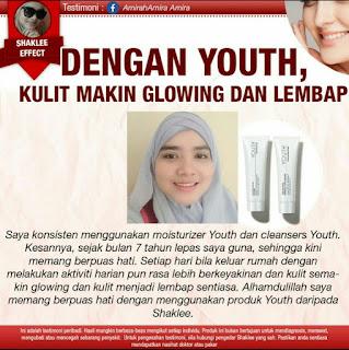 Pengalaman Guna dan Harga Cleanser Youth Skincare Shaklee