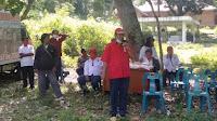 Rapberjuang Berbagi Sembako kepada Warga Desa Pardugul Samosir