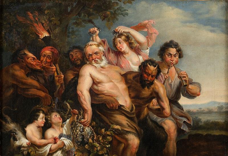 Sileno - Companheiro de Dionísio na Mitologia Grega