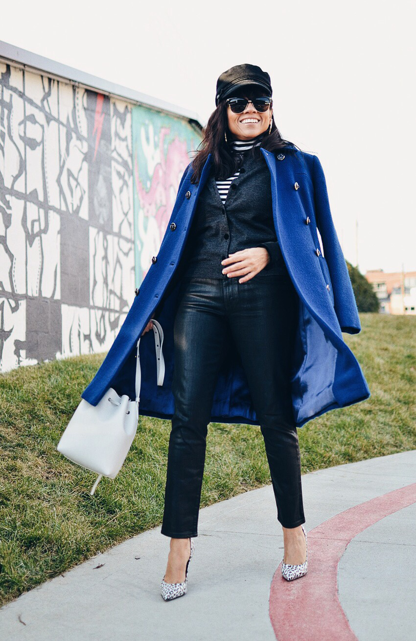 Statement coat street style