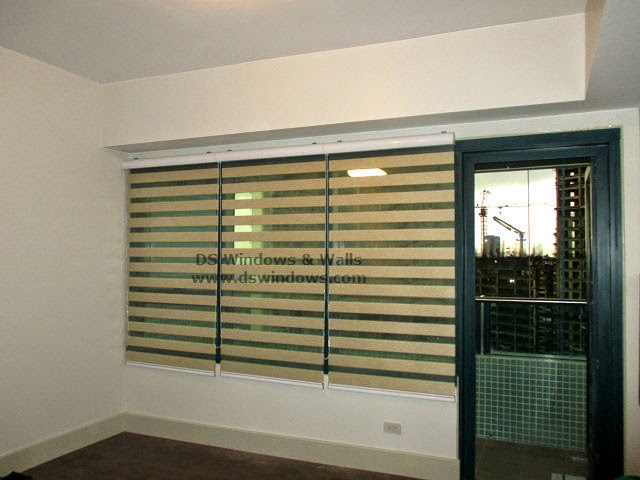 Combi Blinds For Large Windows - Bel-air, Makati City Philippines