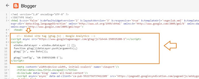 How To Find & Add Analytics Web Property ID On Blogger 14