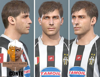 PES 2019 Faces Antonio Conte by AliReza