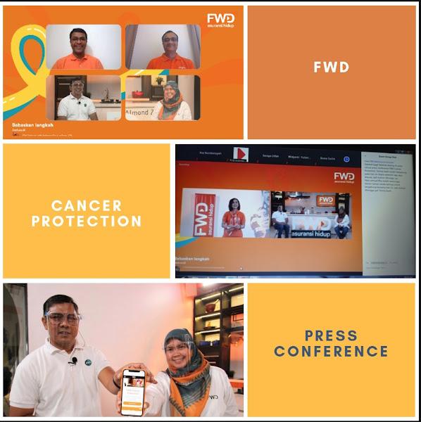 Konferensi Pers Virtual Peluncuran Produk Asuransi Kanker FWD Cancer Protection, pada Selasa, 8 September 2020 yang lalu.