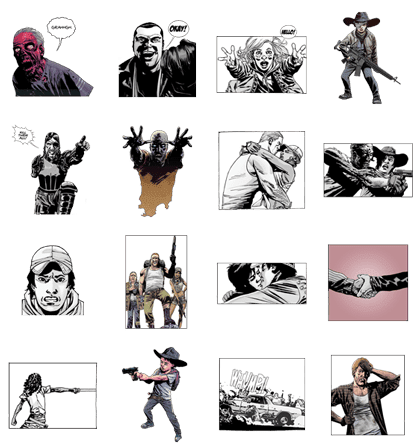 LINE Stickers The Walking Dead Free Sticker Pack Free Download