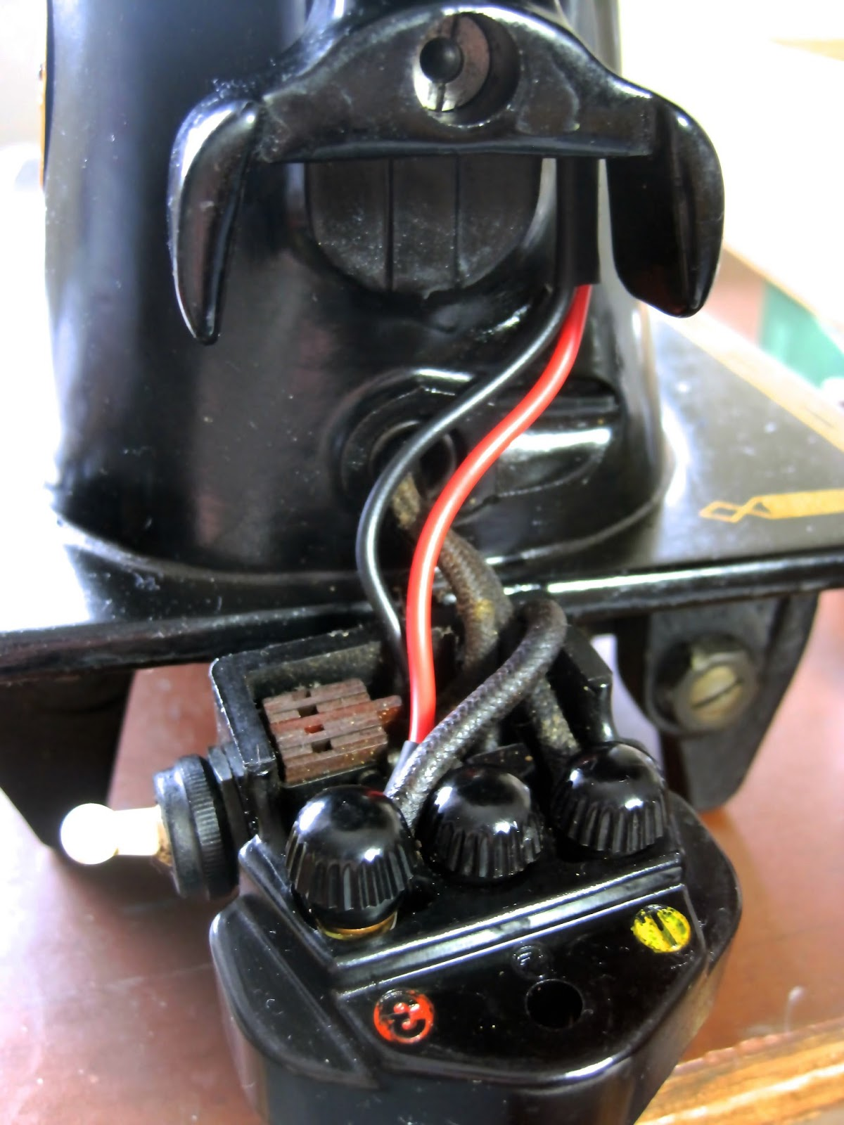 Industrial Singer Sewing Machine Wiring Model Diagram The Project Lady Re Wire Motor Mail In Service