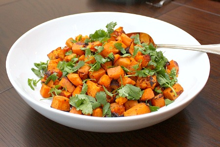 chipotle sweet potatoes