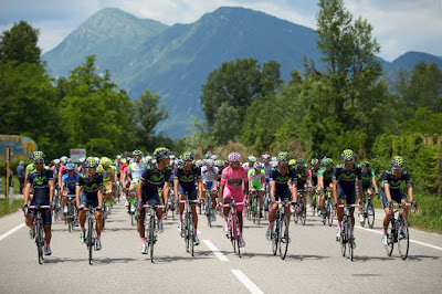 cyclists giro d'italia 2016