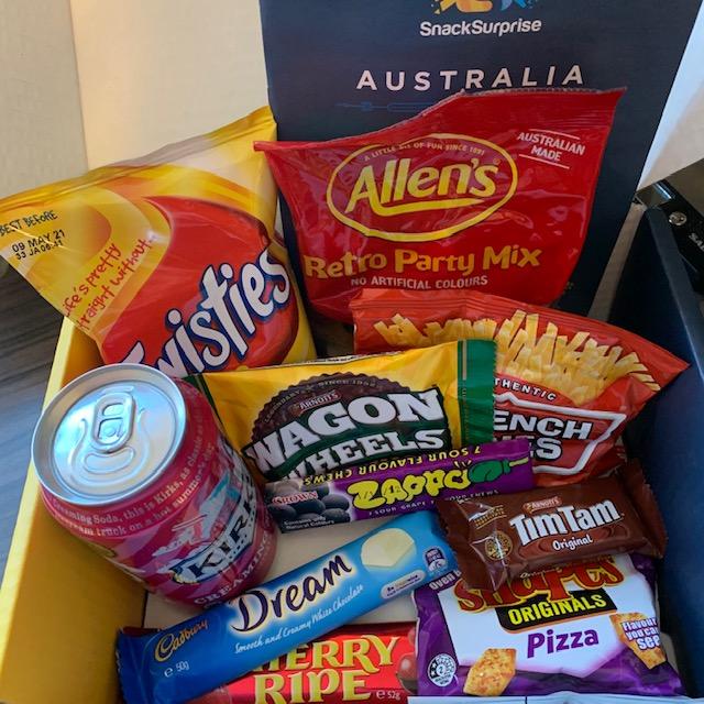 Snack Surprise box from Australia
