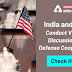India and U.S. conduct Virtual Discussion on Defense Cooperation: Check Here