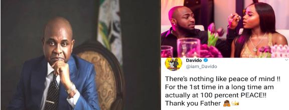 Kingsley Moghalu congratulates Davido and Chioma on their engagement