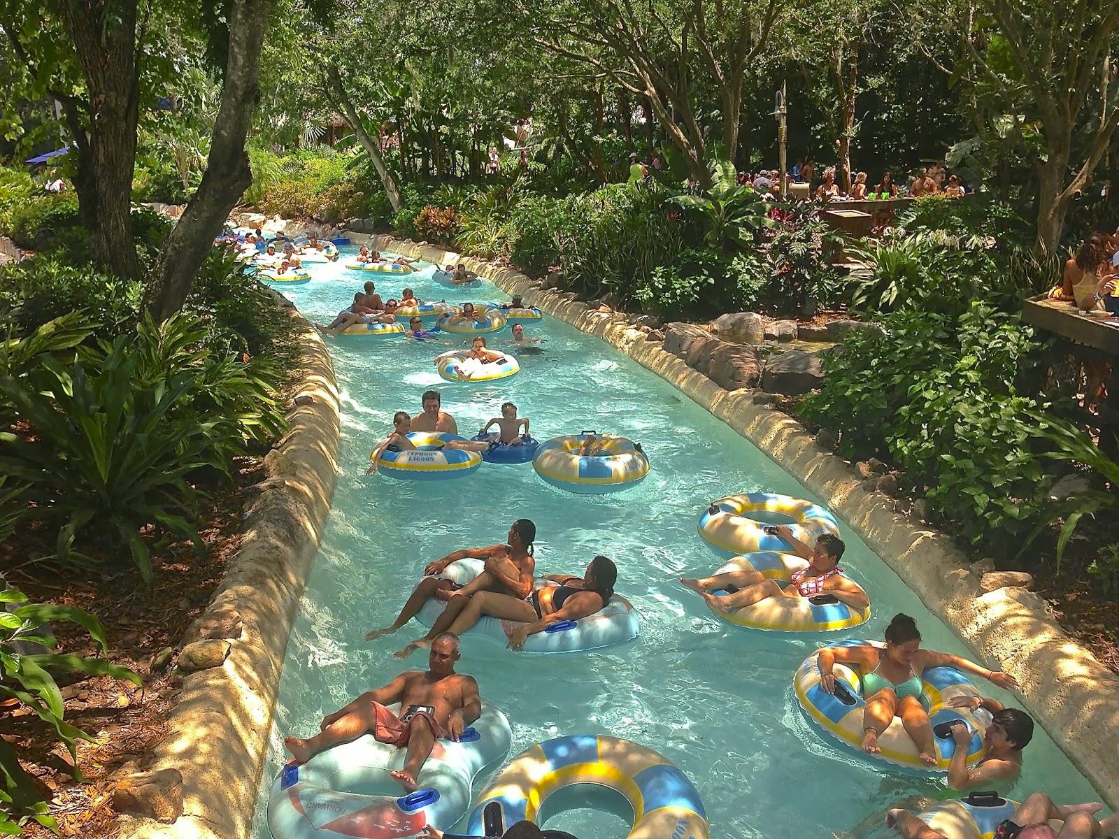 Typhoon Lagoon, Walt Disney World   Morgan's Milieu: Castaway Creek, Typhoon Lagoon