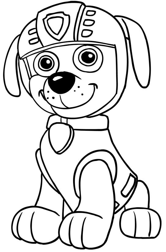 Paw patrol coloring pages 43