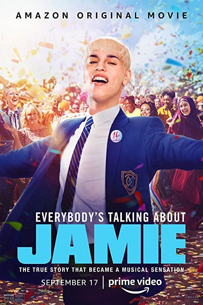 Download Everybody's Talking About Jamie (2021) Dual Audio [Hindi+English] 720p + 1080p WEB-DL ESubs