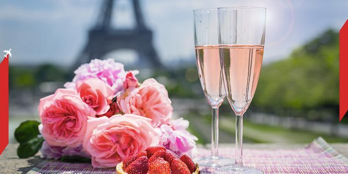 rabat na bilety, Walentynki, AIR FRANCE KLM, Air France KLM promocja, Linie lotnicze, Walentynki w Patyżu, Paryż, Francja,