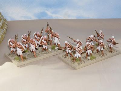 New Kingdom Egyptians - Close Combat Troops.