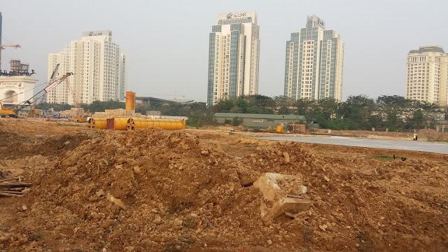 Cập nhật tiến độ dự án Sunshine Empire Ciputra Hà Nội