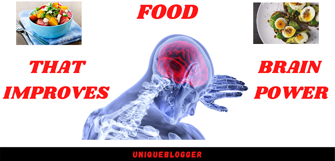 10 BEST FOOD TO IMPROVE BRAIN POWER