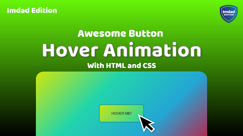 How to Make Awesome Button Hover Effect with HTML and CSS