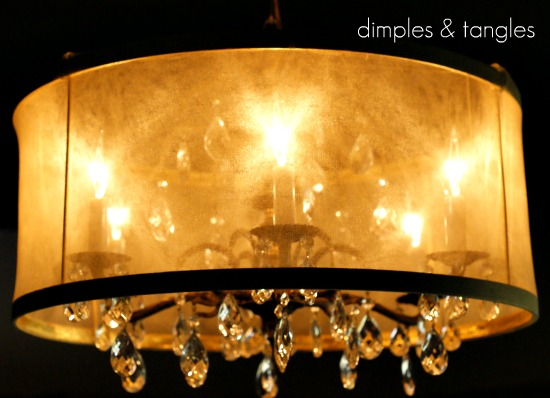 Diy drum shade tutorial dimples and tangles mozeypictures Images
