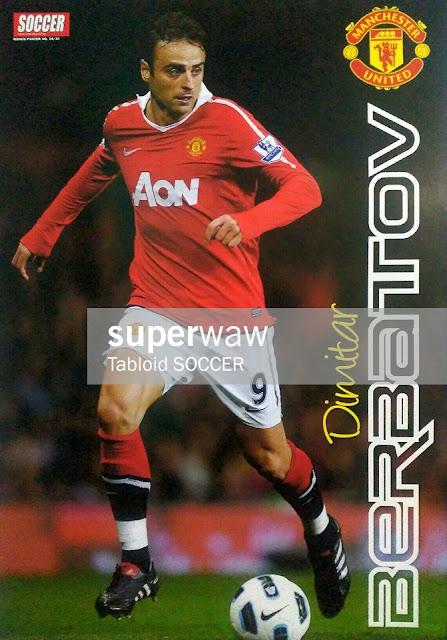 Dimitar Berbatov Manchester United 2010