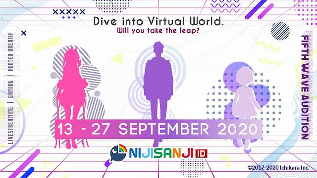 5th Wave Nijisanji ID Audition Sudah Diumumkan!