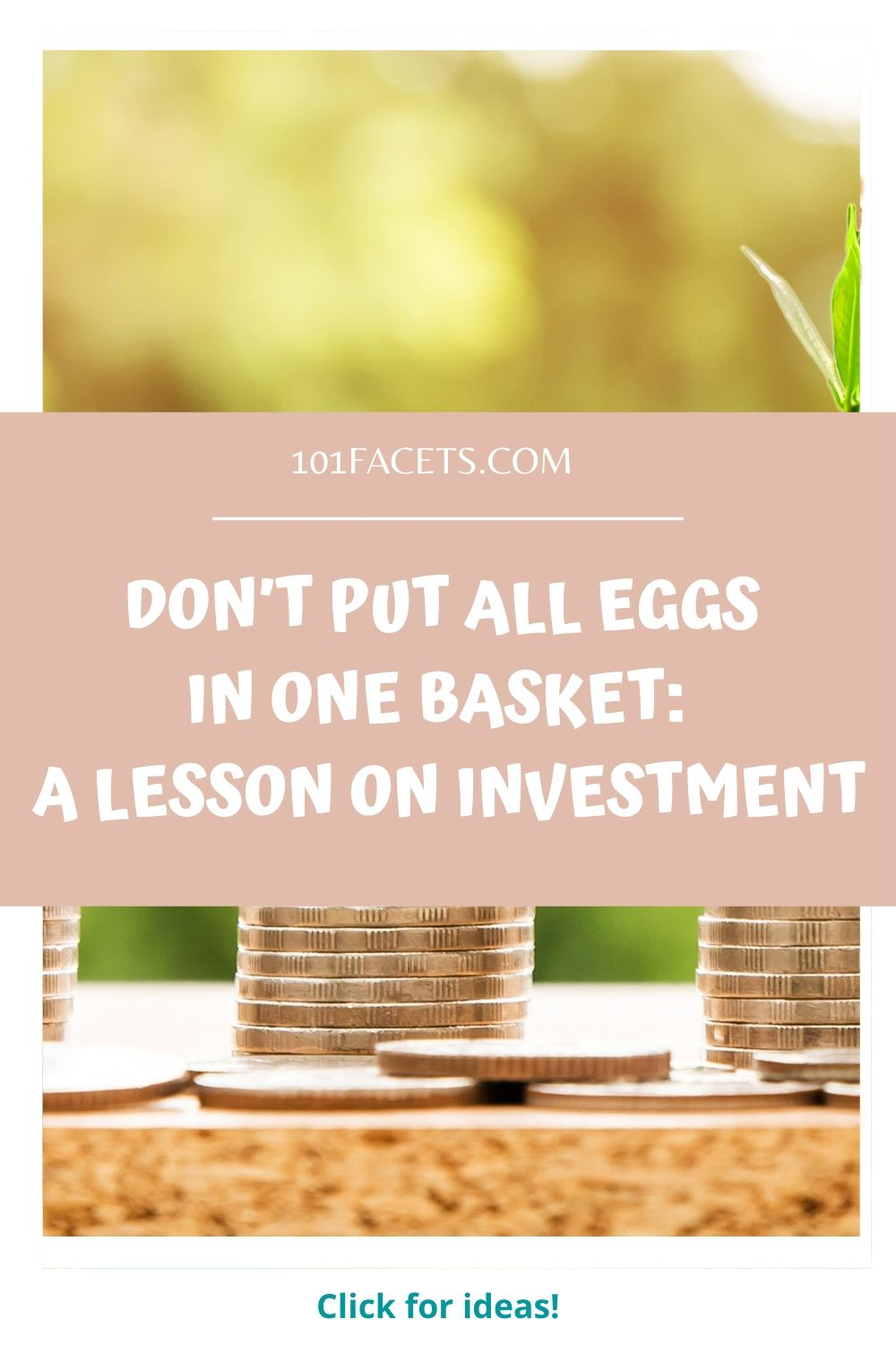 Don't Put All Eggs in One Basket: A Lesson on Investment