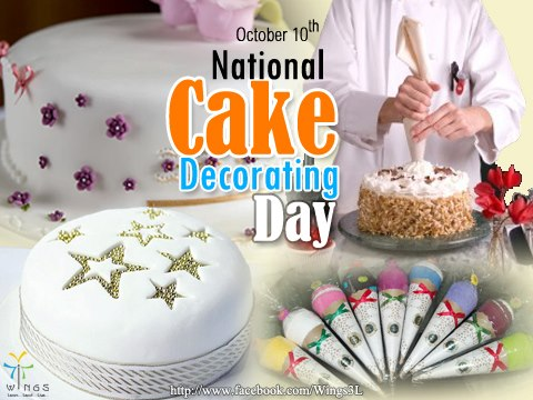 National Cake Decorating Day Wishes Images