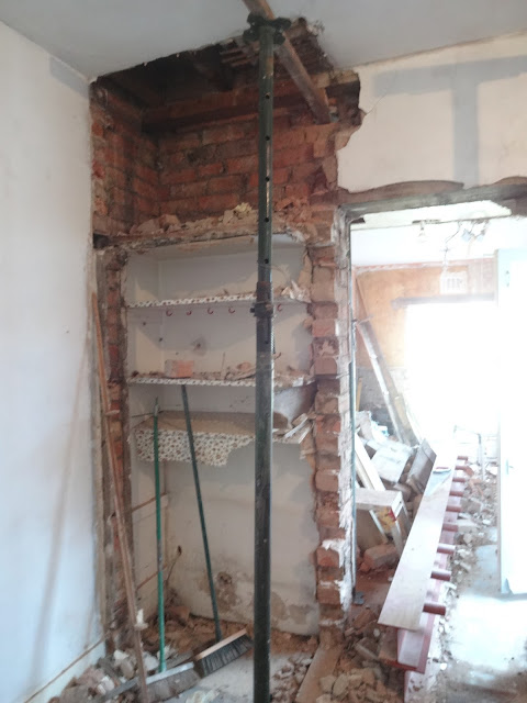 removing a victorian cupboard