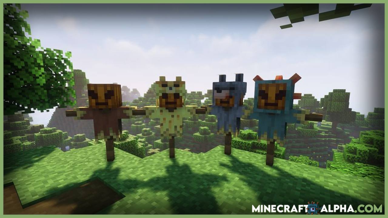 Minecraft Feders Scarecrows