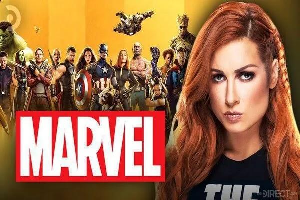 بيكي لينش تنضم لعالم أفلام Marvel وتلمح إلى العمل بدوام جزئي مثل ذا روك وجون سينا