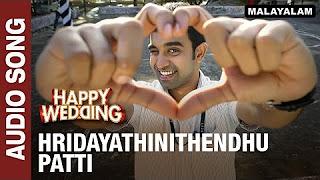 Hridayathinithendhu Patti (Audio Song) _ Happy Wedding _ Soubin Shahir, Sharafudeen & Siju Wilson