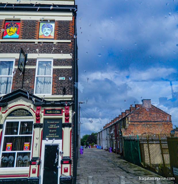 Casa de Ringo Starr em Liverpool