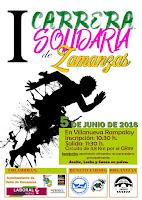 Carrera solidaria Zamanzas