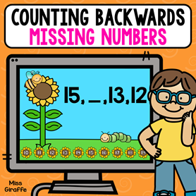 Missing numbers counting backwards
