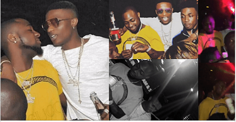 So Superstar singer, Wizkid's concert 'WizkidTheConcert' held last night, but that wasn't the only excitement that came with the show. The singer's perceived industry archenemy, Davido joined him on stage as they performed the latter's hit single 'Fia.
