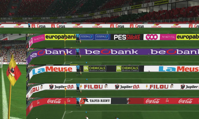 Jupiler Adboards, Billboards and Corner Flags For PES 17-19 by simonnoelkavanagh