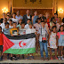 """Bienvenida en la Diputación a los niños y niñas saharauis de """"Vacaciones en paz"""""""