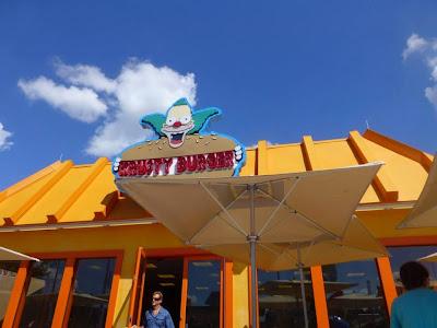 Krusty burger Simpsons Universal Studios Orlando Floride
