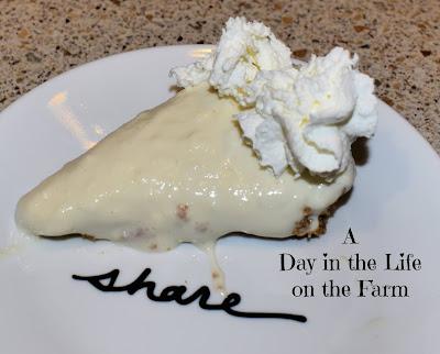 Lemon and Lavender Cream Pie