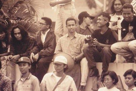 Beredar, Foto Anies Muda Protes Majalah Tempo Dibredel