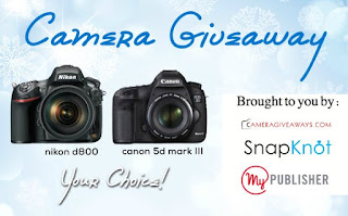 Enter the Nikon / Canon Camera Giveaway. Ends 5/15.