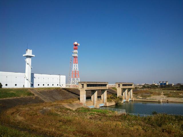 江戸川 三郷排水機場