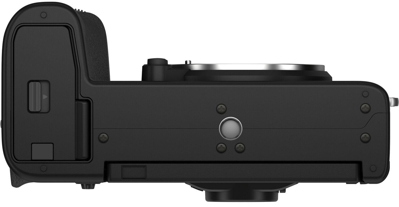 Fujifilm X-S10, вид снизу